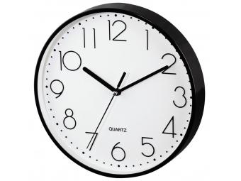 Hama 186343 nástenné hodiny PG-220, tichý chod, čierne