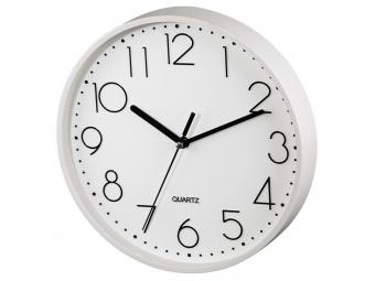 Hama 186387 nástenné hodiny PG-220, tichý chod, biele