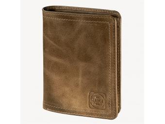 Hama 124987 Pánska kožená peňaženka H4, 1923 Mailand, svetlá hnedá