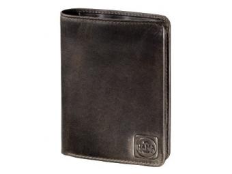 Hama 124993 pánská kožená peňaženka H4, 1923 Paris, tmavo hnědá