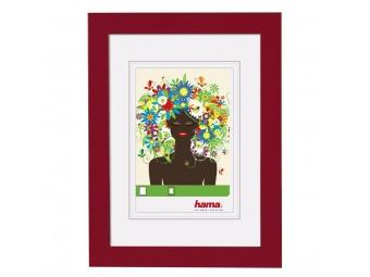 Hama 125903 rámček plastový ARONA, červený, 13x18 cm