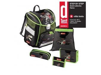 Step by Step 129097 Školský ruksak - 5-dielny set T-Rex, certifikát AGR