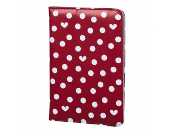 Elle 135512 Hearts and Dots obal na tablet do 17,8 cm (7), s funkciou stojanu