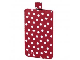Elle 135529 Hearts and Dots obal na mobil, veľkosť XL
