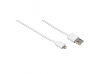 Hama 138222 USB Cable for Apple iPhone/iPod/iPad with Lightning Connection, MFI, 1 m