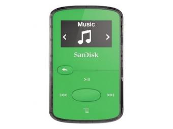 SanDisk MP3 Sansa Clip JAM 8 GB svetlá zelená