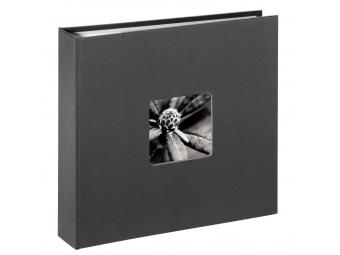 Hama 1704 Album memo Fine Art 10x15/160, šedý, popisové pole