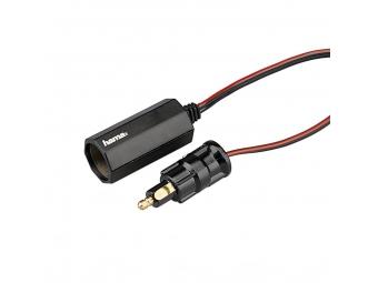 Hama 45660 redukcia 12V zásuvky (DIN ISO 4165) na zásuvku zapalovača