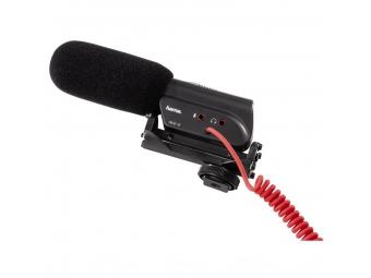 Hama 46118 smerový mikrofón RMZ-18 pre kamery, pružné uloženie, mono