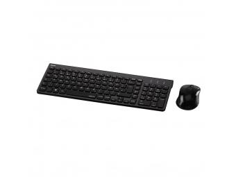 Hama 50445 set bezdrôtovej klávesnice a myši Trento