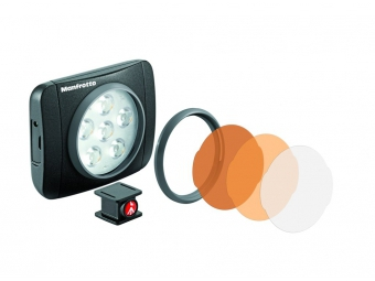 Manfrotto MLUMIEART-BK Lumie series ART LED light