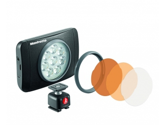 Manfrotto MLUMIEMU-BK Lumie series MUSE LED light
