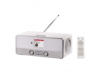 Hama 54824 digitálne rádio DIR3110 DAB+/internetové rádio/FM, biele