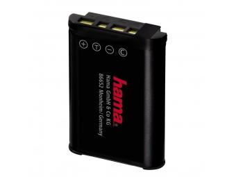 Hama 77460 foto a video akumulátor Li-Ion 3,6 V/1090 mAh, typ Sony NP-BX1