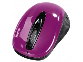 Hama 86565 optická myš AM-7300, čierna/ostružinová