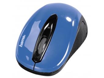 Hama 86566 optická myš AM-7300, čierna/modrá