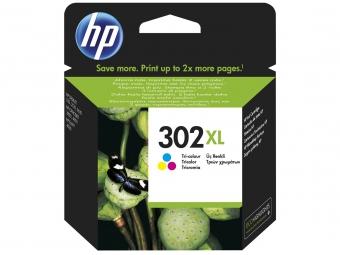 HP No.302XL Atramentová kazeta Color (F6U67AE)