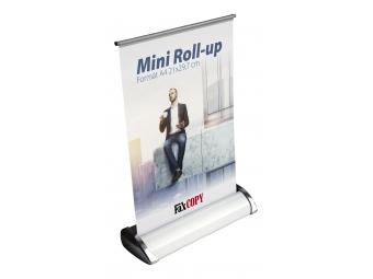 Roll-up Mini A4 komplet s výtlačkom