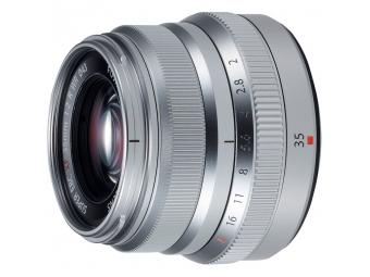 Fujifilm XF 35mm F2 R WR strieborný