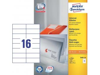 Avery Etikety univerzálne 105x37mm (bal=100hár)