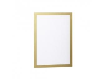Durable Samol.informač.panel A4 DURAFRAME zlatý (bal=2ks)