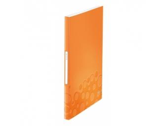 Leitz Katalógová kniha WOW A4/40 obalov,oranžová
