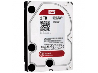 """WD20EFRX 2000GB WD Red™ 3.5"""" 5400 - 7200RPM Serial ATA III. 64MB cache IntelliPower"""