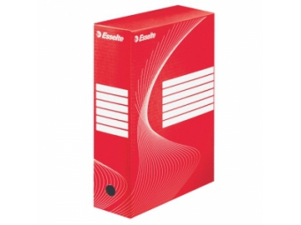 Esselte Archívny box 100mm červená/biela