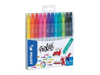 Pilot 4204 FriXion colors gumovacie fixky,mix (bal=12ks)