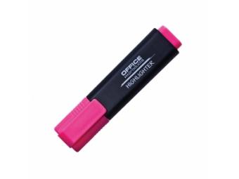 Office Products zvýrazňovač 1-5mm ružový