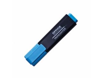 Office Products zvýrazňovač 1-5mm modrý