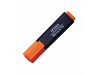 Office Products zvýrazňovač 1-5mm oranžový