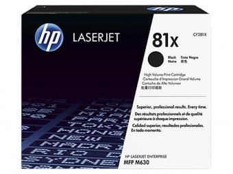 HP CF281X Tonerová kazeta Black 81X, HC