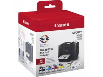 Canon PGI-2500 Atramentová náplň Multipack XL, C/M/Y/Bk
