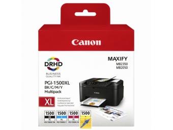 Canon PGI-1500 Atramentová náplň Multipack XL, C/M/Y/Bk