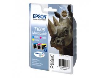 Epson T1006 Atramentová náplň Color multipack, C/M/Y