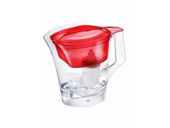 BARRIER Twist filtračná kanvica na vodu, červená