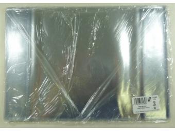 Obal na zošit A6 PVC transp.pevný 224x154mm (bal=10ks)