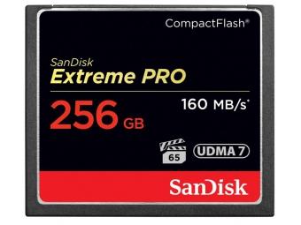 SanDisk Compact Flash CF 256GB Extreme PRO 160MB/s VPG 65, UDMA7