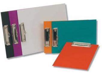 Doska-podložka písacia A4 s klipom laminovaná oranžová