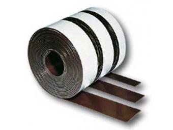 Legamaster Hnedá magnetická páska 25,0mmx3m
