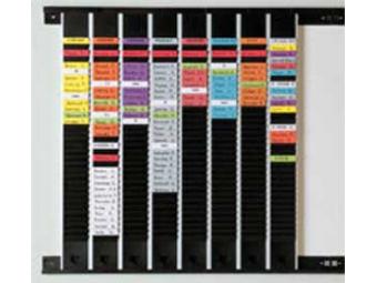 Legamaster Plánovací Modul 1050mm 60 T-kariet