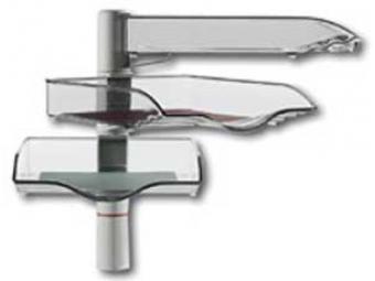 Novus Stojan otočný CopySwinger III,3 úrovne,sivý