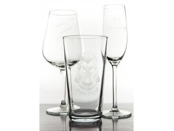 Gravírovanie skleneného pohára (bez pohára)