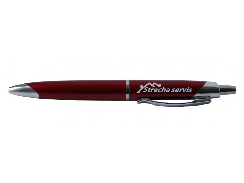 Klasické guľôčkové pero s UV potlačou
