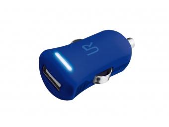 Nabíjačka TRUST Smartphone Car Charger - modrá