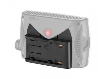 Manfrotto MLBATTADT-L7.2V, adaptér pre batérie SONY L na LED svetlá Manfrotto
