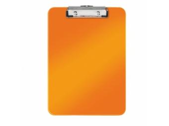 Esselte písacia podložka WOW s klipom metal.oranžová