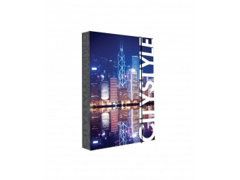 Box na zošity A4 s gumičkou, dizajn Jumbo Hongkong