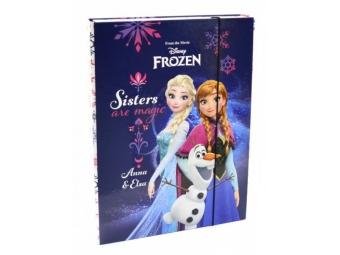 Box na zošity A4 s gumičkou, dizajn Jumbo Frozen
